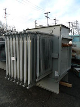 Westinghouse Type RSL Class OA/FA 1500 KVA 3PH Transformer 13800 to 4160Y/2400