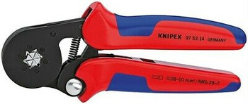 Knipex 975314 Insulated Crimping Crimper Pliers 28 - 7 Awg 7-1/4