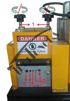 110V 370W  Wire Stripper Stripping Machine Scrap Copper Diameter ?ª2-20Mm