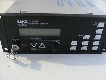 Mks Pressure Controller, Type 651