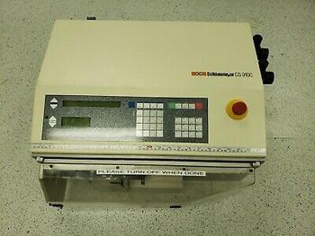 Schleuniger Cs 9100 Wire Cut & Strip Machine Good Working Condition .