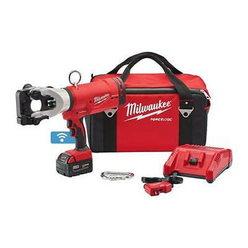 Milwaukee 18V Cordless Force Logic 1590 Acsr Cable Cutter Battery Charger Bag
