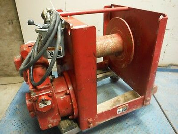 Thern 4Ws6M12 Electric Worm Spur Power Winch W/ 2 Hp Leeson Motor