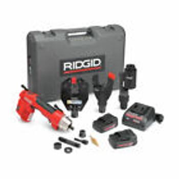 Ridgid 52093 Re 6 Electrical Tool Cut, Crimp & Punch Kit