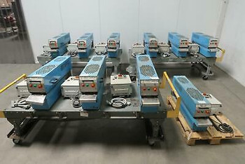 Lot Of 10 Dsg Fst16S Thermal Shrink Tunnel Ovens W Controls