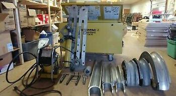 Enerpac Eegor Electric Hydraulic Bender B-400 Series. 2.5- 4 Emt, Imc, Rigid.