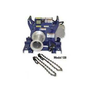 Current Tool 120 2-Speed Cable Puller W/ Chain Mount 10,000# Rated ( New )