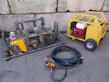 2013 Cbs  C-1350  Fiber Optic Hydraulic Cable Pusher Tugger  Condux #2