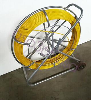 8Mm Fish Tape Fiberglass Reel Wire Cable Running Rod Duct Rodder Fishtape Puller