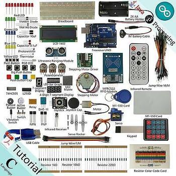 Freenove Rfid Starter Kit V2.0 For Arduino | Beginner Learning | Uno R3 Mega Nan