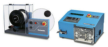 Eubanks Autostrip 4900 Bench-Top 32 Awg Wire Stripper & Prefeed 6380 Wire Feeder