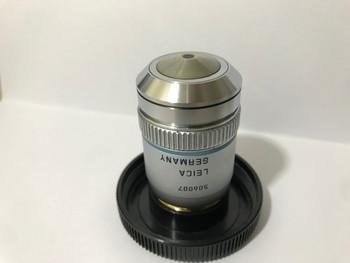 Leica Microscope Objective Pl Fluotar 40X/1.00-0.50 Oil