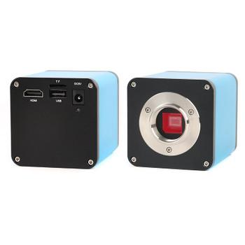 Autofocus SONY IMX290 HDMI HD Auto Focus Industry Universal Bracket LED Ring Light Autofocus TF Video Microscope Camera PCB Sold