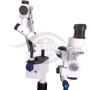 (110-240V) Wall Mount Neurosurgery Operating Microscope 5 Step,90?? Fixed Binoculars With Advanced Led Illumination Iso Ce Dr.Onic