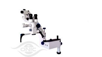 110-240V Wall Mount Dental Microscope 5 Step,45/° Binoculars with Advanced LED Illumination ISO CE Dr.Onic