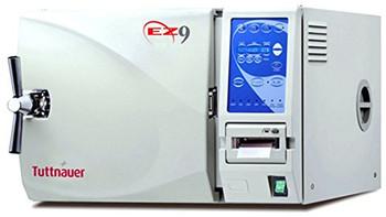 "Autoclave, Tuttnauer Automatic, Model Ez9, Chamber 9 X 18-1/2"", 120 V"