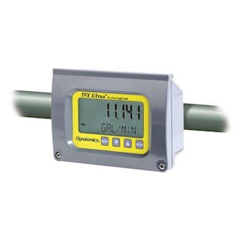 Dynasonics DUFX1-D1-CE Flow Meter With Standard Pipe Transducer