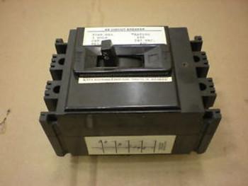 1 AB NES23100 NES 100 AMP 3 POLE 240 VAC CIRCUIT BREAKER