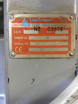 Limitorque L120-10 Valve Actuator