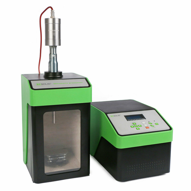 Ultrasonic Homogenizer Sonicator Cell Disruptor Mixer 450W 10-300 ml