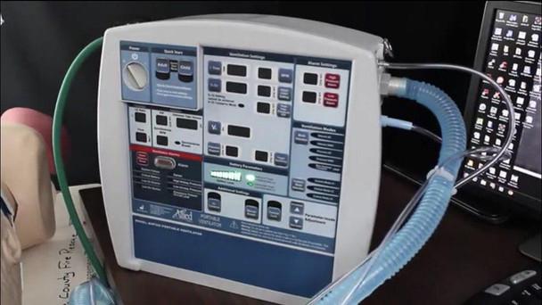 AHP300 Portable Transport Ventilator