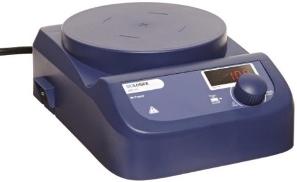 Scilogex 86152103 Model MS-PA BlueSpin LED Digital Magnetic Stirrer with Plastic Plate, 100/240V