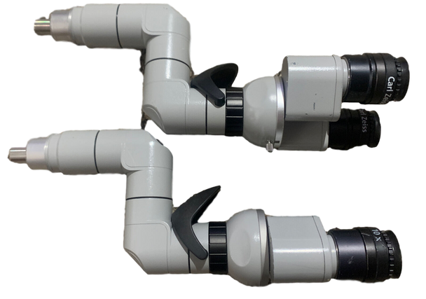 Zeiss F170 OPMI Surgical Microscope Binoculars with 10x Eye Pieces/Inverte