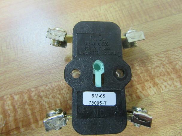 Ward 78095-T Joslyn Clark Contact 78095T Black Base