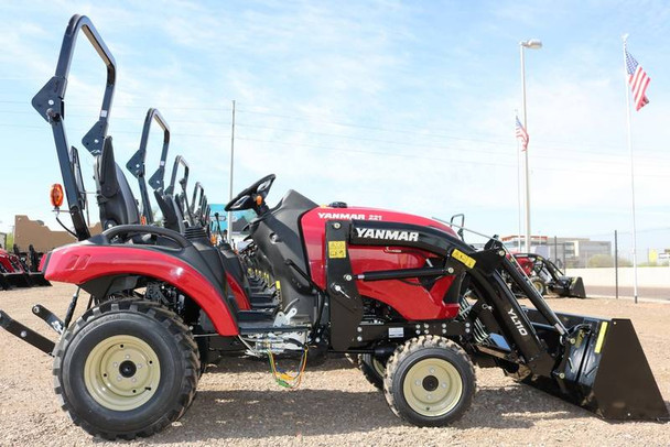 809 MP 2020 YANMAR 221CX-TL 4x4 24 BHP Tractor with Loader and BOX BLADE