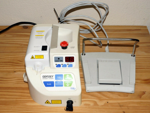 Ivoclar Vivadent Odyssey Wired Diode Dental Laser With Pen Unit #4