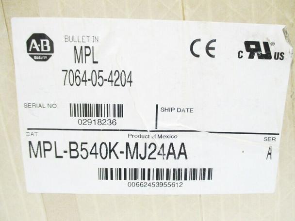 ALLEN BRADLEY MPL-B540K-MJ24