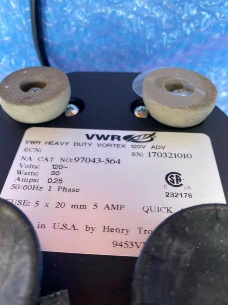 VWR Advanced Heavy Duty Vortex Mixer 97043-564