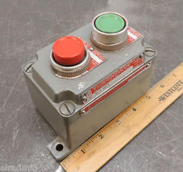 KILLARK XCS-0B4 HAZARDOUS LOCATION ELECTRIC BOX EXPLOSION PROOF PUSH BUTTON