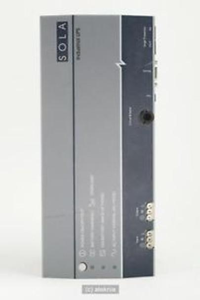 Sola Model SDU-500 Hevi-Duty Industrial DIN Rail UPS VERIFIED