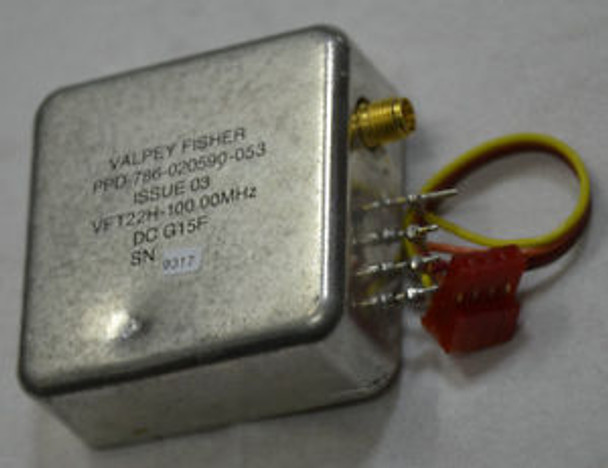 SMA USED 100MHz OCXO PTI XO5051-001 PPD786-020590-053 SMA 12V EFC High-level