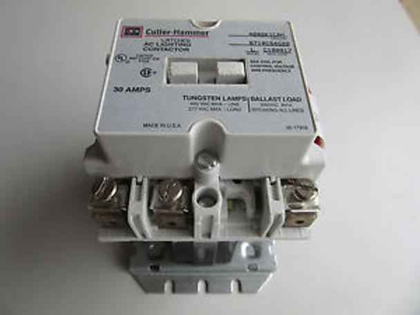 Cutler Hammer A202K1CAM Lighting Contactor 3P 30A 120V Coil ...