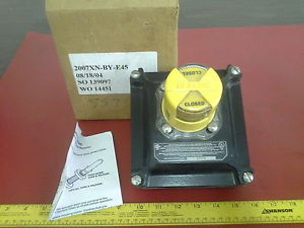 WESTLOCK CONTROLS 2007XN-BY-E45 BEACON VALVE POSITION MONITOR NEW IN BOX