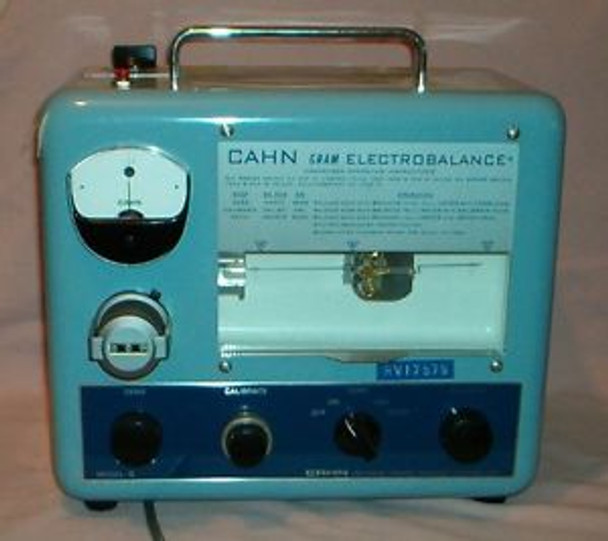 CAHN Model G - ELECTROBALANCE - with Hook & Trays - Tested - Government  Surplus