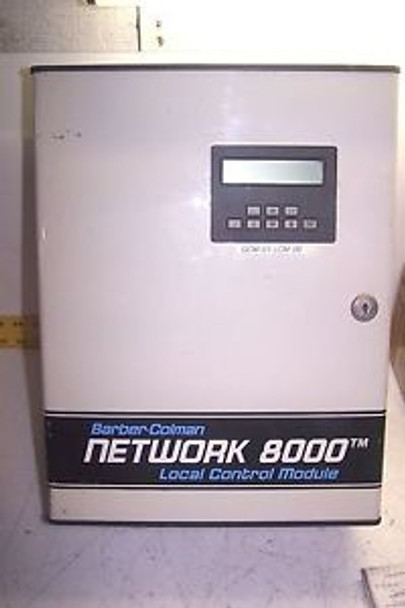 BARBER COLMAN NETWORK 8000 LOCAL CONTROL MODULE LCM 88210 24 VAC 30 VA 40 140F