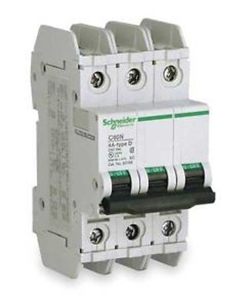 SCHNEIDER ELECTRIC 60174 Circuit Breaker Lug C60N 3Pole 6A
