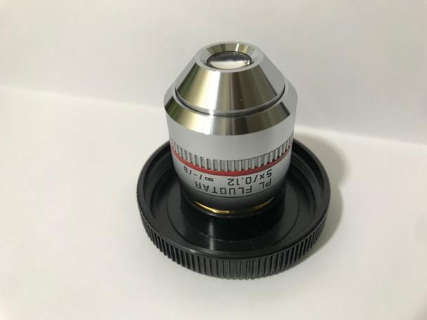 Leica Microscope Objective PL FLUOTAR 5x/0.12