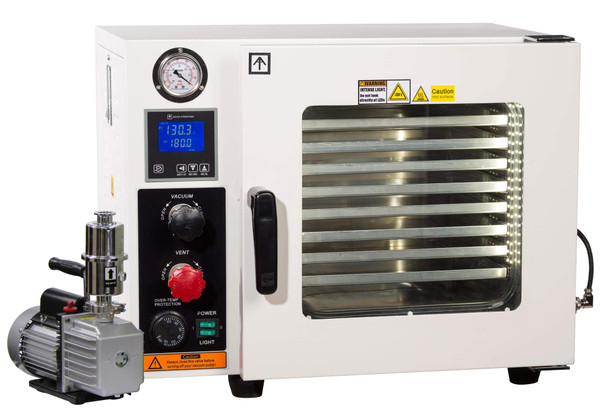 Across International AT09p7.110 Ai Vacuum Oven with 7 CFM Pump, 5 Sided Heating, 0.9 cu ft