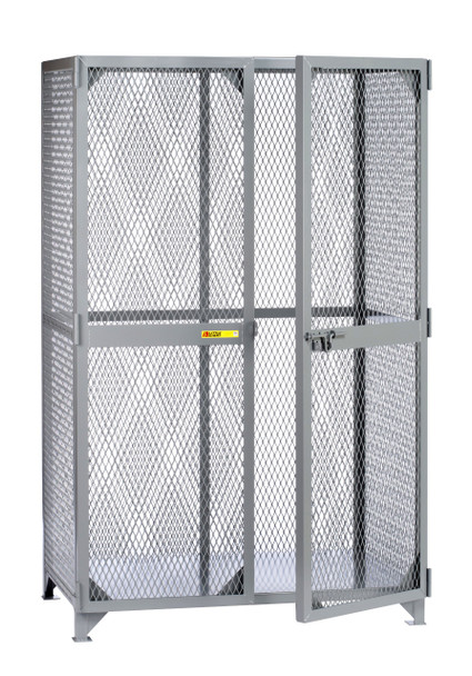 "Little Giant SLN-3060 Metal Welded Storage Locker, 60"" Width x 78"" Height x 30"" Depth"