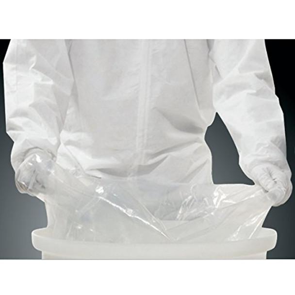 Nalgene 343050-0200 Coex Polyethylene Film Sterile Liner for 757L Cylindrical Tank, Gamma Irradiated (Case of 10)