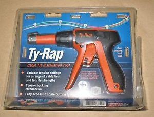 bd7bf97158ad Ty Rap ERG120 Cable Zip Tie Installation Tool - SPW Industrial
