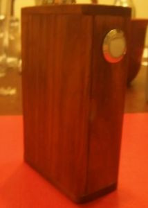 Wood Box Triple 18650 Mechanical Unregulated Box Mod can sub ohms to super  subs