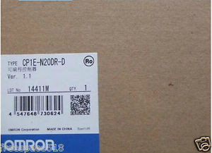 OMRON Programmable Logic Controller CP1E-N20DR-D CP1EN20DRD PLC New In Box