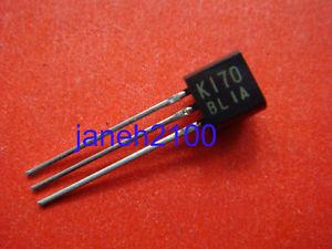 50pcs 2SK170-BL K170 2SK170 2SK1 70BL FET N-Ch Transistor N Channel QUAD
