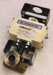 El-O-Matic International Eda-25-A Double Acting Rotary Actuator Valve Parts