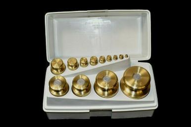 500g 1000g 80780108 Ohaus 3 Piece Metric Attachment Weight Set 707-00